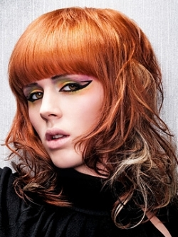 Hairstyles with blunt bangs 03