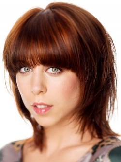 Hairstyles with blunt bangs 06